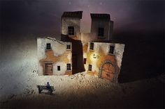 """Francesco Romoli Shows Steps In Creating """"Imaginary Towns"""" Series"""