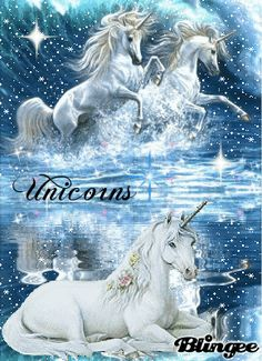 Unicorns Animated Pictures for Sharing Fantasy Unicorn, Unicorn And Fairies, Unicorn Horse, Unicorns And Mermaids, Unicorn Art, Magical Unicorn, Fantasy Art, Magical Creatures, Fantasy Creatures