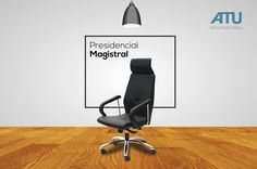 Armchairs designed to meet the diverse needs of each user, with integrated adjustments and regulation systems. They are able to adapt to any work area. The Magistral chair is structurally strong and it has stylized aesthetics by the enhancement of straight lines.