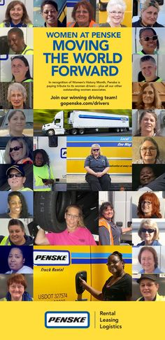 Thanks to our many truck drivers who help us move the things that move the world forward! Women Drivers, Global Supply Chain, Truck Drivers, Used Trucks, Career Opportunities