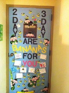 Decorate a teacher's door