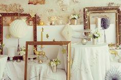 Shooting inspiration deco mariage hiver dore et blanc - La Fiancee du Panda blog mariage-