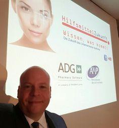 Mein Vortrag in Straubing beim ADG Infotag: #Hilfsmittelzukunft #Digitalisierung im Gesundheitswesen #Wearables #IoT