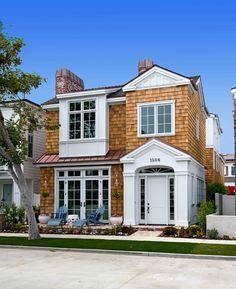California Shingle Beach House