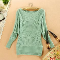 $16 2013 New Arrival Autumn and Winter Women's Medium long Sweater Pullovers Plus Size Fashion Casual Knitted Pullover Woman-inPullovers f...