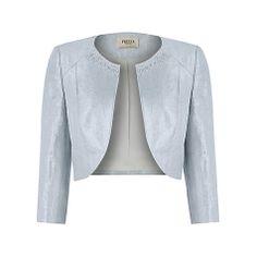 Buy Precis Petite Shimmer Shantung Bolero Online at johnlewis.com