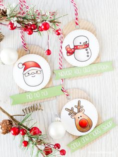 273 best Christmas gift tags images on Pinterest | Christmas cards ...