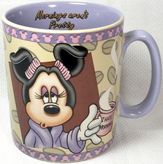 MINNIE /& MICKEY MOUSE vintage style rétro DISNEY mug tasse à café neuf dans boîte cadeau