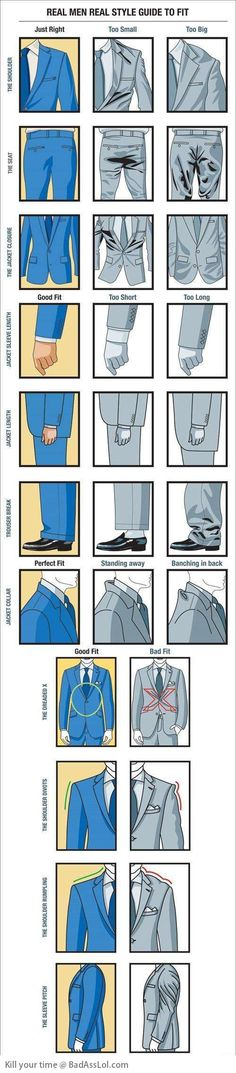 Real Men guide for perfect suit