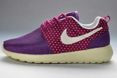 Nike Roshe Run Mesh Womens Purple Red Amour Black Pattern UK Explore