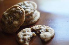 #Chocolate chip cookies.  These almost didn't make it to the photo shoot.  Please applaud our self control.