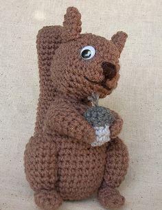 Crochet Squirrel   Crochet Pattern