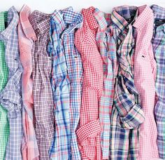 Mad about plaid! Classic, crisp button downs from @VineyardVines will take you from Easter Sunday to Masters week & everywhere in between.  . #VineyardVines #buttondowns #shirts #plaid #gingham #checked #menswear #mensclothing #BoardroomClothingCo #BestDressed #AugustaGA