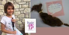 Σας ευχαριστούμε για την υποστήριξη ! Η μικρή Αναστασία στην 'παρέα' των δωρητών… Αγάπης! Το είπε και το έκανε. Η Αναστασία ανακοίνωσε στη μητέρα της την πρόθεσή της να δωρίσει μια ποσότητα από τα μαλλάκια της και η επιθυμία της έγινε πραγματικότητα! Cover, Hair, Strengthen Hair