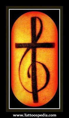 Christian music tattoo