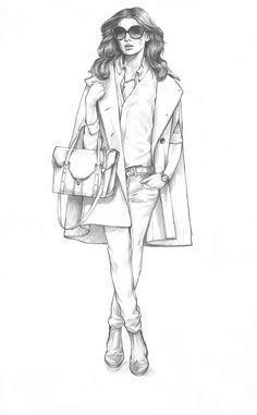 Illustrations for Cocoon Luxury Wear. on Behance