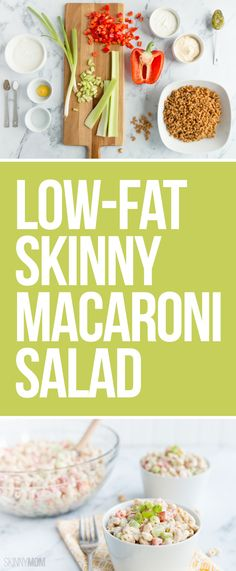 Ditch the fats with this skinny side!