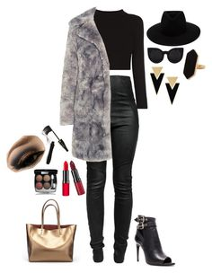 """"" by cdne on Polyvore featuring Isabel Marant, Karl Lagerfeld, Burberry, rag & bone, Yves Saint Laurent, Jaeger, Rimmel, Lancôme and Chanel"