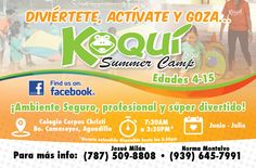 Koquí Summer Camp @ Aguadilla #sondeaquipr #campamentosverano #aguadilla #paralosninos