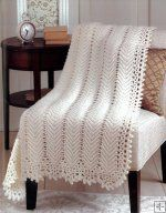This gorgeous Ripple Afghan is now on my list of things to make!  <3 it!!