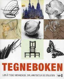 Tegneboken av Sarah Simblet (Innbundet) - Maling og tegning | Tanum nettbokhandel