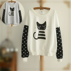 """Material: made of cotton and polyester  Colors: White/Grey  Size reference:  <table border=""""1"""" style="""" border:1px solid #000000;border-collapse:collapse;"""" cellpadding=""""3""""><tr style=""""font-weight:bold;background-color:#FFFFFF;""""><td style=""""text-align:center;font-weight:bold;background-color:#F..."""