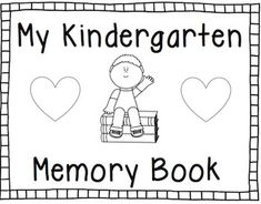 This is an End of the Year Memory Book for students to