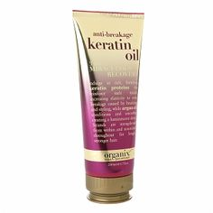 This is Miraculous!  The first time using it left my hair so shiny, soft, & luxurious. A must with every wash.    Organix Anti-Breakage Keratin Oil 3 Minute Miraculous Recovery