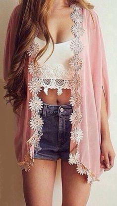 Sweet Daisy Kimono
