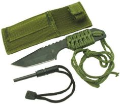 New Full Tang Survival Knife and Fire Starter HK6320 ** Read more at the image link.