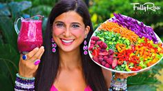 FullyRaw HOT PINK DELICIOUS Salad Dressing! http://youtu.be/p5ZS-HK1Ik0
