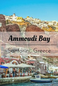We had the best dining experience with a non-touristic price in one of the tavernas in Ammoudi Bay, SAntorini, Greece - PinayFlyingHigh.com