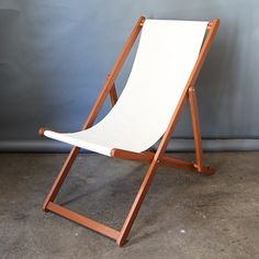 Deck Chair | Folding Canvas Deckchairs | Outdoor Furniture | Ici Et La  Surry Hills