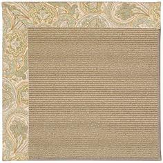 Capel Zoe Light Brown Area Rug Rug Size: 3' x 5'