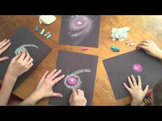 How to Draw a Spiral Galaxy - YouTube
