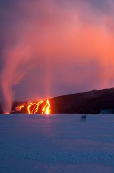 Grímsvötn volcano has the highest eruption frequency of all the volcanoes in Iceland. Click through to post to find out more.