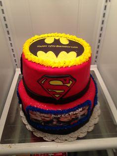Superhero - 1Direction Cake