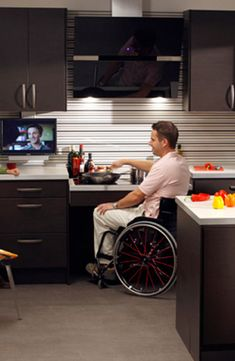 Countertop Height For Wheelchair : ... LIVING on Pinterest Wheelchairs, Wheelchair ramp and Grab bars
