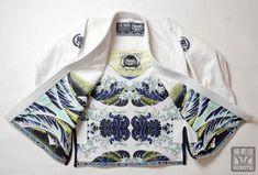 Scramble 'Wave' Kimono. Slick.