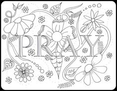 Pray drawing
