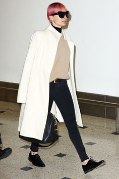 Shop Nicole Richie's chic airport look here:
