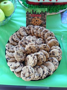 cookies minecraft party