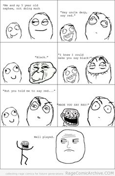 trollface troll nephew