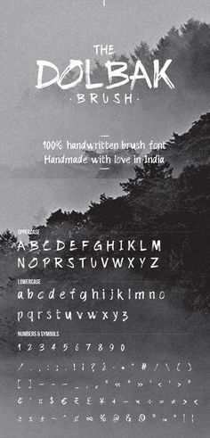 For repeating elements Free Brush Script Font, Best Free Script Fonts, Brush Font, Text Fonts, Typography Fonts, Lettering, Cursive Fonts, Calligraphy Alphabet, Architectural Font