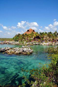 Aventura y placer cortesía de la naturaleza. #XelHa http://soy.ph/XelHa_PinPH #Yucatán #ViajesPalacio
