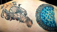 Ysabelkid's Firefly Serenity tattoo and Stargate tattoo