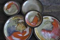 vintage heath ceramics plates