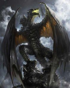 Knight Dragon, Dragon Rider, Mythological Creatures, Fantasy Creatures, Mythical Creatures, Dragon Medieval, Cool Dragons, Dragon's Lair, Dragon Artwork