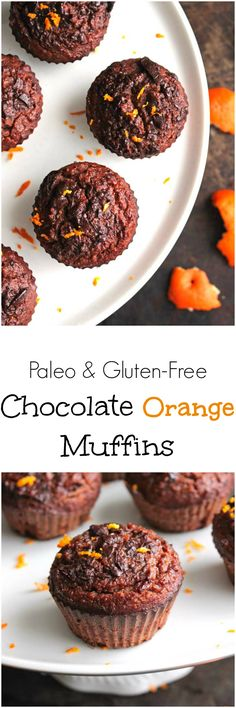 Paleo Chocolate Orange Muffins