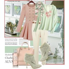 Love my Pink & Green!!JANE #ANNJANEcomingsoon